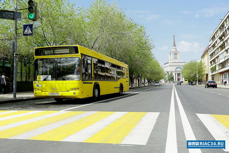 В Волгоградском общественном транспорте протестируют новую систему безопасности