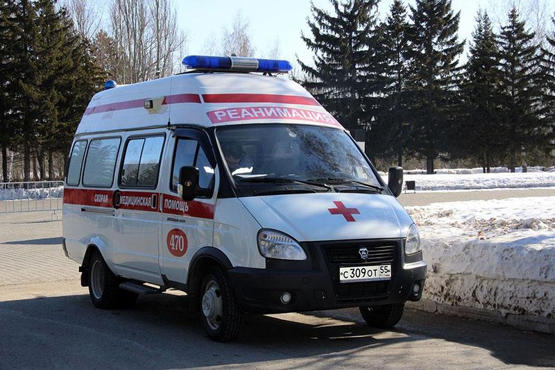 В Омске сотрудники вневедомственной охраны Росгвардии не допустили нападение нетрезвого мужчины на бригаду скорой помощи
