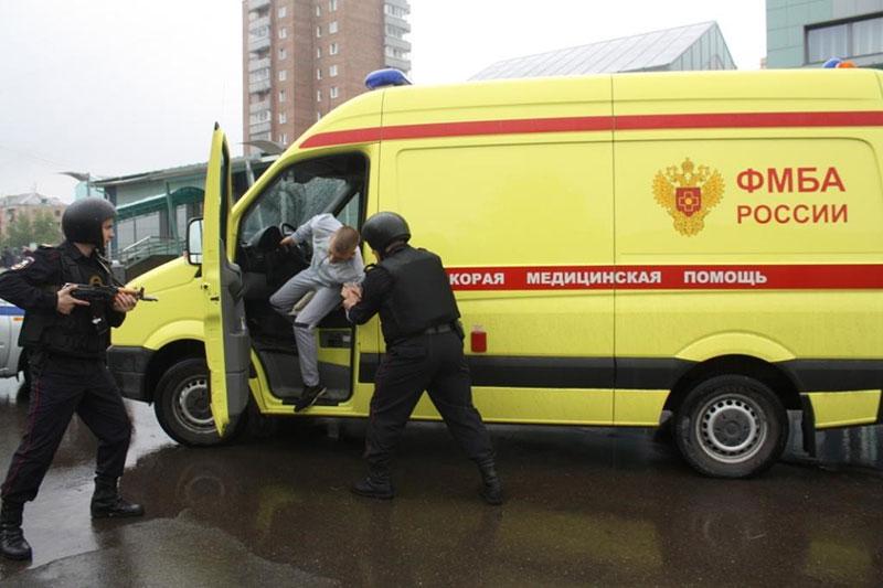 Машины скорой помощи в Красноярске оснастят «тревожными кнопками»