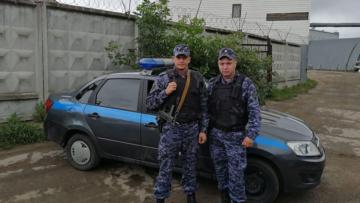В Москве сотрудники Росгвардии пресекли попытку угона охраняемого автомобиля