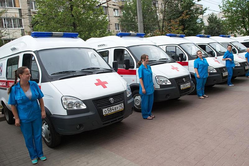 Калужские бригады «скорой помощи» будет охранять Росгвардия (видео)