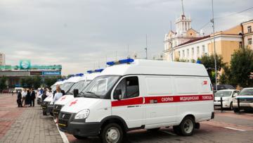 Infpol: В Улан-Удэ росгвардейцы встали на защиту медиков