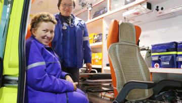 СТС Кузбасс: Кузбасская Росгвардия взяла под охрану экипажи «скорой помощи» (видео)