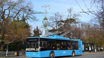 В Севастополе Росгвардия задержала мужчину, напавшего на водителя троллейбуса