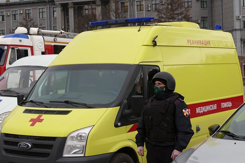 В Кузбассе Росгвардия повышает безопасность для медицинских работников