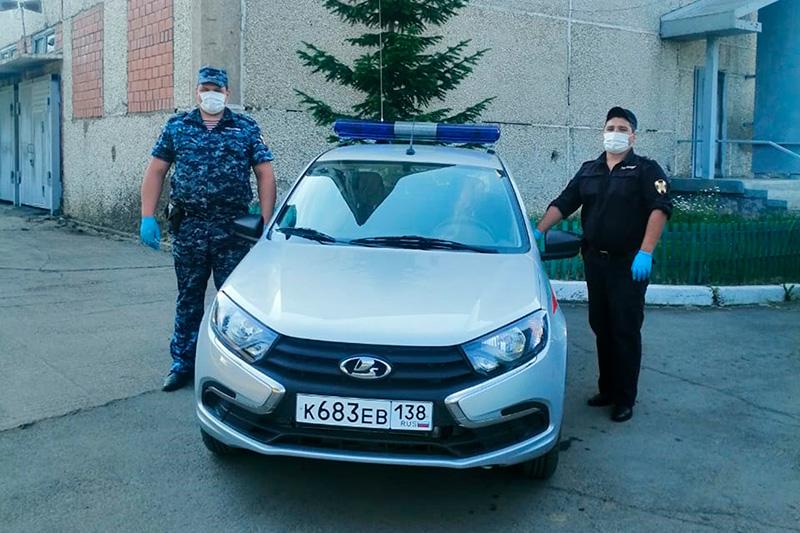 В Иркутской области сотрудники Росгвардии предотвратили автоугон