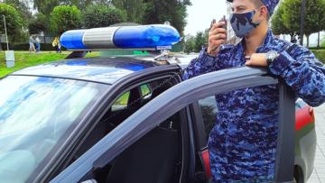 В Тамбовской области росгвардейцы задержали нетрезвого автоугонщика