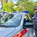 В Севастополе сотрудники Росгвардии задержали нарушителя правопорядка на общественном транспорте