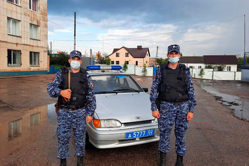 Нарядом Росгвардии в Башкирии пресечена попытка угона автомобиля
