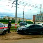 В Ульяновске сотрудники Росгвардии задержали подозреваемого в угоне автомобиля