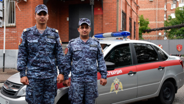 В Адыгее сотрудники Росгвардии задержали подозреваемого в угоне автомобиля