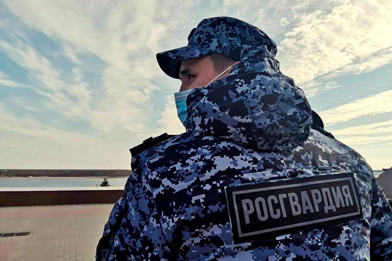 Подозреваемый в похищении автомобиля задержан сотрудниками Росгвардии в Волгоградской области