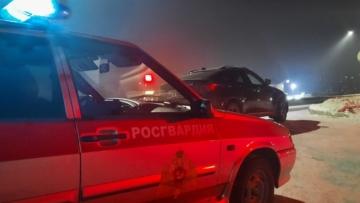 Нарядом вневедомственной охраны Росгвардии в Туве задержан подозреваемый в угоне автомобиля