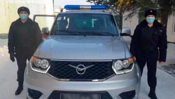 В Омской области сотрудниками Росгвардии задержаны двое местных жителей, подозреваемых в угоне автомобиля