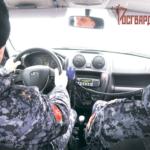 Нарядом вневедомственной охраны Росгвардии в Красноярском крае задержан нетрезвый мужчина, подозреваемый в угоне автомобиля