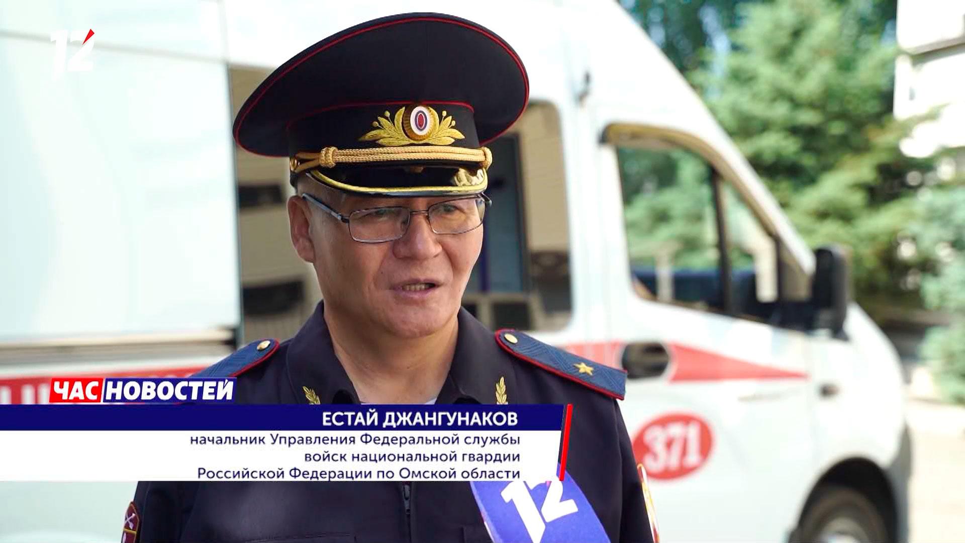 На страже безопасности омских медиков: как росгвардейцы могут спасти сотрудников скорой помощи (видео)